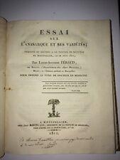 MÉDECINE. ANASARQUE (ESSAI SUR L' )1811