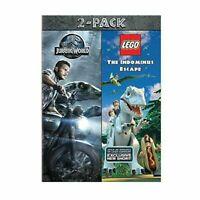 Jurassic World / LEGO Jurassic World 2-Pack (DVD 2016)