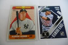 Aaron Judge Yanks 2018 Panini#19 &2018 Heritage NAP #NAP-5 mint