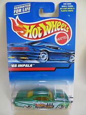 HOTWHEELS ' '65 CHEVROLET IMPALA'. GREEN 'HOTWHEELS.COM'. MIB/BOXED #197