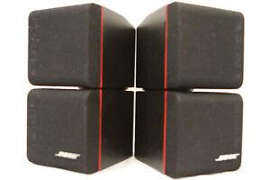 2x Beautiful Bose Redline Double Cube Speakers (Black)