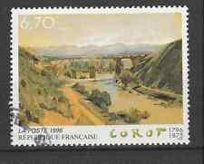 Tableau Bicentenaire de la naissance de JB Corot  YT 2989 oblitéré