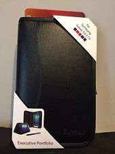 rooCASE Samsung Galaxy Tab 3 7.0 Executive Leather Portfolio w 2 in 1 Stylus Pen