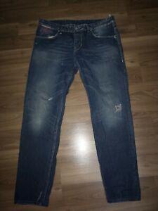 Takeshy Kurosawa Herren Top Marken Jeans Hose Gr. W38 (entsp.W36) L32 %100Cotton