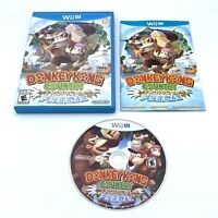 Nintendo Wii U Donkey Kong Country Tropical Freeze Complete CIB Free Shipping