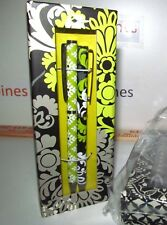 VERA BRADLEY REFILLABLE INK PEN RARE PEN & PENCIL SET BAROQUE NEW BOX