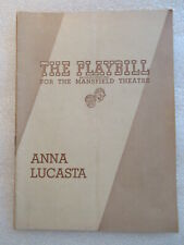 1946 PLAYBILL PROGRAM ANNA  LUCASTA Mansfield Theatre
