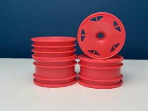 TAMIYA Astral Dish Buggy Wheels 2WD PINK SPECIAL - Front & Rear - DT02 DT03 New