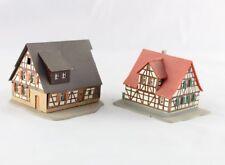 Kibri 6822 (6406) Timber-Frame Houses with Garden Z Gauge (Z307-3)