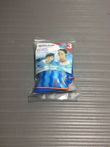 Swim School Perfect Fit Fabric Arm Floats Level 3 Blue New