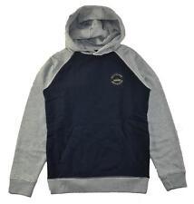 Quiksilver Big Boys Blue/Gray Fleece Hoodie Size 12 (Medium)