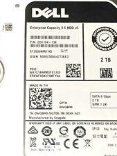 NUOVO Dell Seagate st2000nm0145 2TB 8.9cm 6GBPS 7.2K K 7200RPM SATA HDD wg9r0 WO