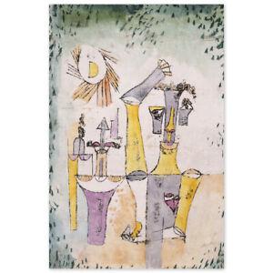 Paul Klee, Schwarzmagier, Poster