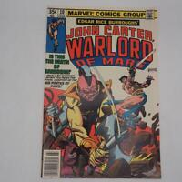 John Carter Warlord Of Mars #10 Marvel Comics March 1978 Gil Kane