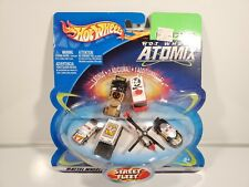 Micro Hot Wheels Atomix Street Fleet Set New NOC Micro Vehicles