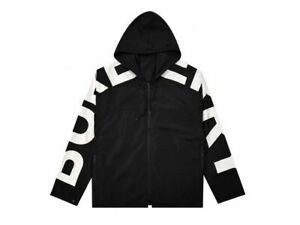Burberry 21Fw Arm Letter Print Hooded Jacket Trench Coat