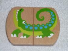 Melissa & And Doug Monkey Giraffe Alligator Crocodile Turtle Wood Wooden Toy