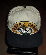 Notre Dame hat VINTAGE snapback 90's Apex One new Dead Stock Fighting Irish RaRe