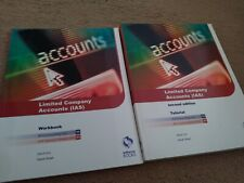 Osborne Accounting books AAT Level 4 NVQ Unit 11 Limited Company Accounts IAS