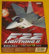 F-22 LIGHTNING II 2 Pc Versione Ufficiale Italiana Big Box F22 »»»»» COMPLETO