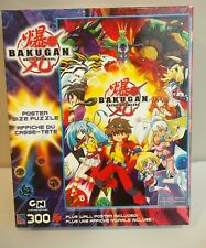 "Bakugan Battle Brawlers Poster Size Puzzle 300 pieces 24"" x 36"" + Wall Poster"