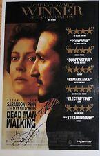 Tim Robbins & Susan Sarandon signed Dead Man Walking 11X17 poster @ Video Proof
