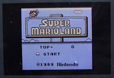 SUPER MARIO LAND 1 BROS NINTENDO GAME BOY GB COLOR GBC ADVANCE GBA PAL ORIGINALE