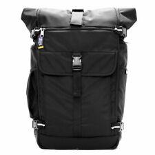 Ethnotek Raja Travel Backpack 46L Daypack Fair Trade Vegan Ballistic Black