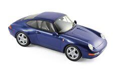 Porsche 911 1994 blau 1:18 Norev neu & OVP 187593