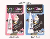 Best Waterproof Eyelash Glue- STAR GLUE Eyelash Adhesive *Pick Dark or Clear