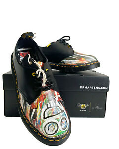 Dr. Martens x Basquiat 1461 Oxford Leather Shoes - Size US Women 7