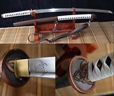 Walking Dead Samurai Sword Japan Katana High Carbon Steel Sharp--Zombies Killer