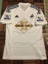 Swansea 2014-15 Premier League Home Player Issue shirt #4 Ki S.Y   L
