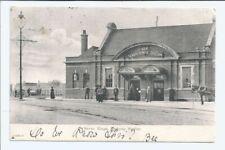 Original vtg pc Seven Kings Railway Station Essex pu 1904