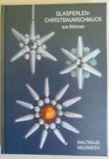 Neuwirth Glasperlen-Christbaumschmuck aus Böhmen 2003 Signiert Nr. 35/200 Rar