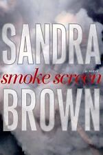 Smoke Screen by Sandra Brown a hardcover novel book FREE SHIPPING a the an