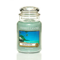 ☆☆ISLAND SPA☆☆ LARGE YANKEE CANDLE JAR 22 OZ.☆☆FREE FAST EXPEDITED SHIPPING
