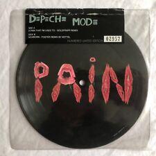 """Depeche Mode-un dolor que estoy acostumbrado a-Raro UK 7"""" imagen disco (disco De Vinilo)"""