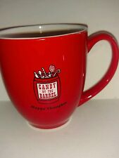 Red Candy by the Barrel Collectible Coffee Mug Happy Thoughts Mast General Store