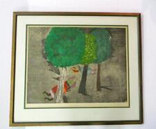 Graciela Rodo Boulanger Signed Color Lithograph Framed Ltd. Edition 8/100 Rare