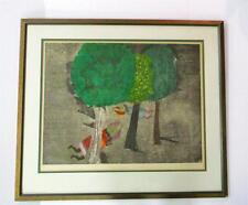 Graciela Rodo Boulanger Signed Color Lithograph Framed Ltd. Edition 8/100 Rare