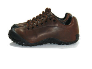 Merrell Shoes Brown Leather Black Trim Chameleon 4 Trek Lace Up Hiking Mens 10