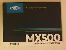 "Crucial MX500 2 To, 2,5"" SATA III, Interne SSD (CT2000MX500SSD1)"