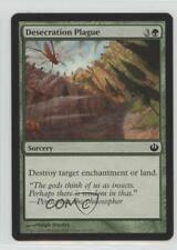 2014 Magic: The Gathering - Journey into Nyx #120 Desecration Plague Card 0b5
