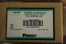Panduit FX2ERLNLNSNM010 10M Multi Mode Fiber cables LC/LC