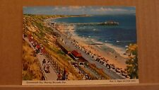 Postcard Unposted Dorset Bournemouth bay Showing Boscombe Pier