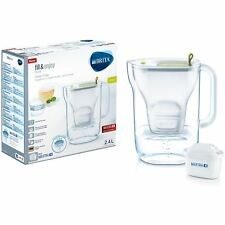 BRITA Style Cool MAXTRA+ Plus 2.3L Slim Water Filter Fridge Jug + Cartridge Lime