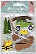 JOLEE'S BOUTIQUE CANOE TRIP DIMENSIONAL STICKERS  BNIP