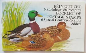 Hungary Stamp Booklet Ducks Mint (44177)