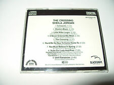 Sheila Jordan The Crossing cd 9 tracks 1984 excellent condition Rare